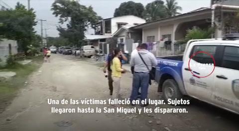 Una mujer muerta y otra herida en tiroteo en Choloma