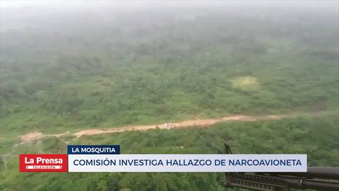 Comisión investiga hallazgo de narcoavioneta