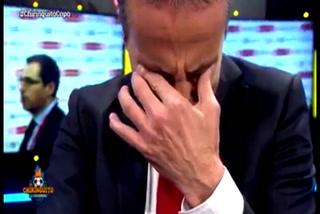 Cristobal Soria rompe en llanto luego de la humillación del Barcelona al Sevilla