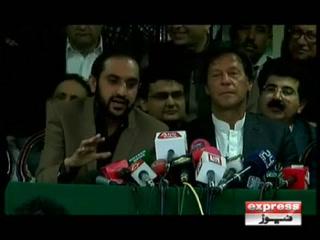 عمران خان سے وزیر اعلیٰ بلوچستان اور آزاد سینیٹرز کی ملاقات