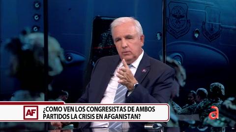 Carlos Giménez: El caos de Afganistán es creado por el presidente Biden