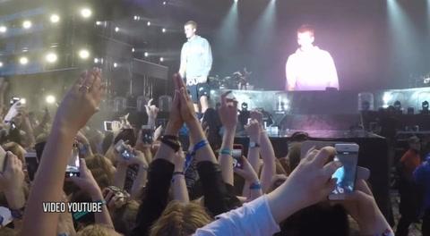 Justin Bieber recibe botellazo por no cantar