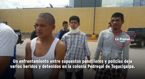 Tegucigalpa: Tiroteo entre pandilleros y policías deja varios detenidos
