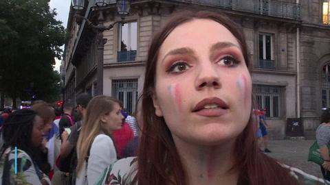 Locura en París tras pase de Francia a la final del Mundial