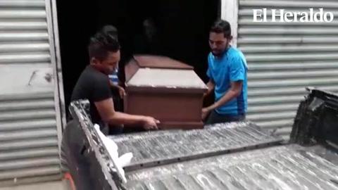Retiran cuerpo de menor embarazada asesinada en Trojes