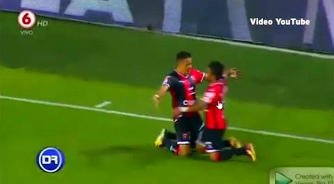 El primer gol de Rojer Rojas con el Alajuelenese de Costa Rica