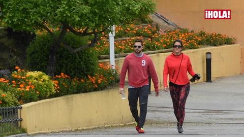David Bisbal y Rosanna Zanetti, cada vez más inseparables, pasean su amor por Madrid