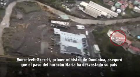 El huracán María deja devastada a Dominica