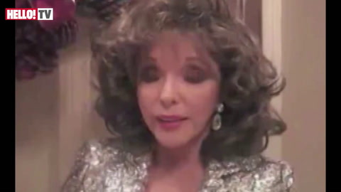 Joan Collins joins fellow celebs supporting UK troops