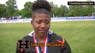 McSwain on Her Lady Tiger Track Legacy