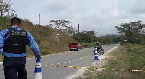 Asesinado hallan a un joven en Choloma