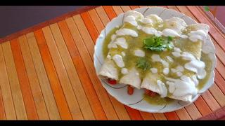 Veggylandia: Enchiladas suizas