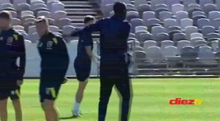 Así fue el primer entrenamiento de Usain Bolt con su nuevo equipo de fútbol