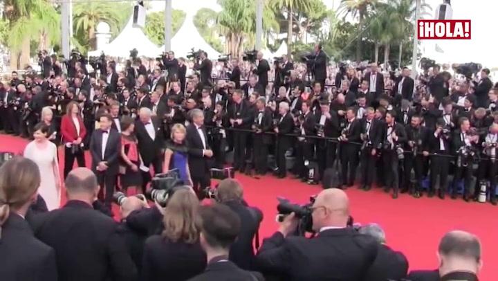 Levantado el telón... El glamour se apodera de Cannes