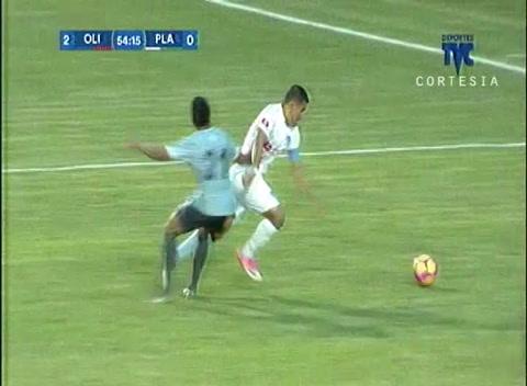 Gambeta bonita del Roro y gol para el Olimpia ante Platense