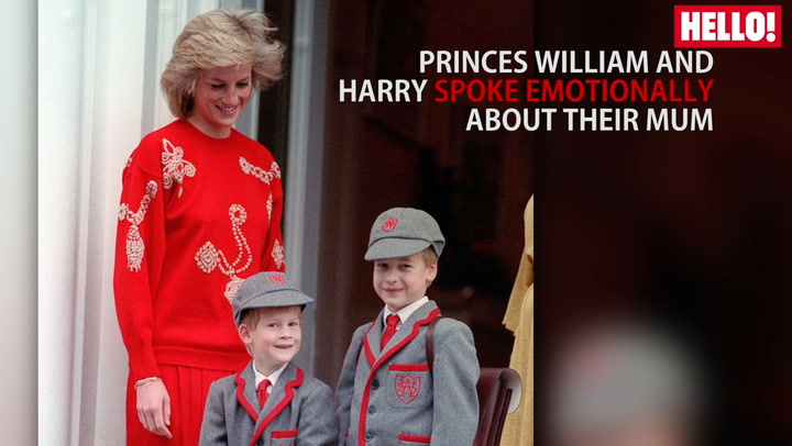 Celebrities React To Princes William And Harry\'s Candid Interview About Mother Diana