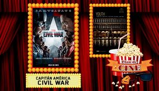Plan de Cine: Capitán América: Civil War