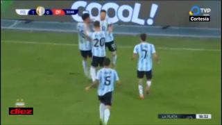 ¡Messi marca golazo de tiro libre y Argentina ya está venciendo a Chile en la Copa América