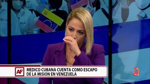 Médico cubana cuenta como escapó de la misión en Venezuela