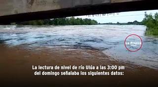 Lluvias en Honduras causan crecida de ríos y provocan daños