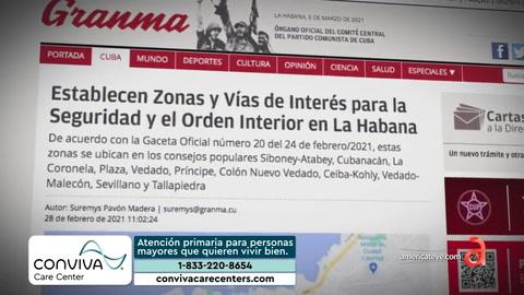 Cuba regula Zonas y vías de interés para la seguridad y el orden interior