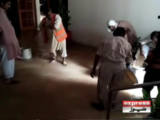 اسلام آباد میں بارش، الیکشن کمیشن بھی پانی پانی