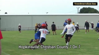 7on7 Scrum Ratchets Up Hoptown-County Rivalry