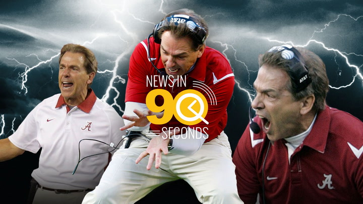 News in 90 Seconds - Nick Saban
