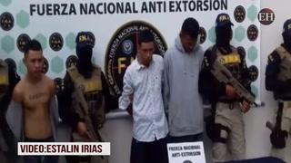 Caen tres mareros de la Salvatrucha de la colonia Suyapa en la capital de Honduras