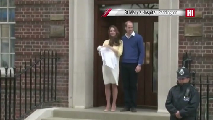 Relive the moment William and Kate left Lindo Wing with their baby girl
