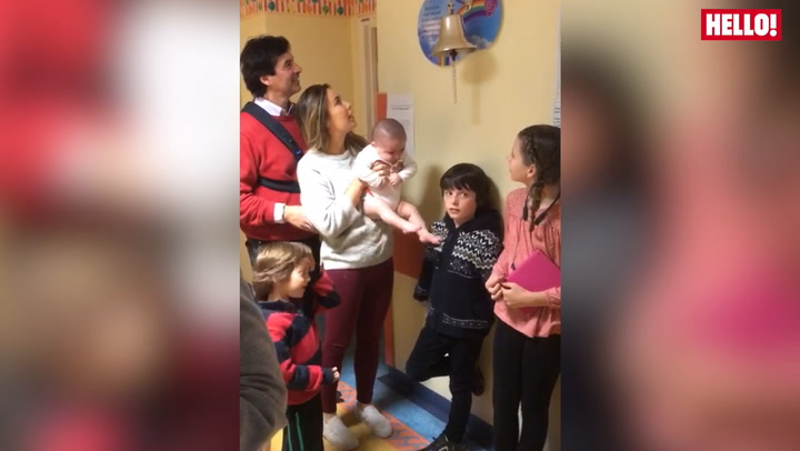 Ring That Bell! Jean-Christophe Novelli And Family Celebrate Their Baby Son Being Announced Cancer-free