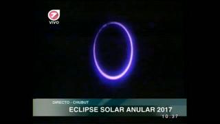 Eclipse anular del Sol, espectáculo en Chile y Argentina