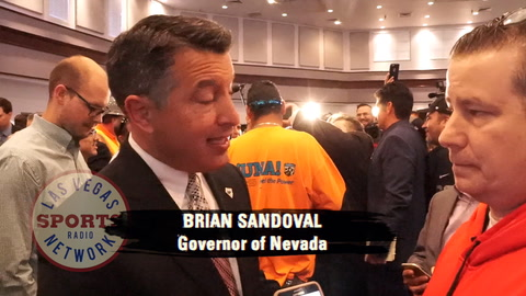Raiders: reaction from Gov. Brian Sandoval (NV)