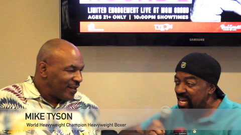 Seat Williams sits down with Mike Tyson