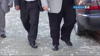 Öğretmenler okula lastik ayakkabıyla gitti