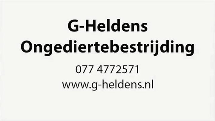 Heldens Ongediertebestrijding G - Video tour