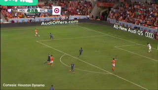 Houston Dynamo 3-1 New York City: Gol de Alberth Elis