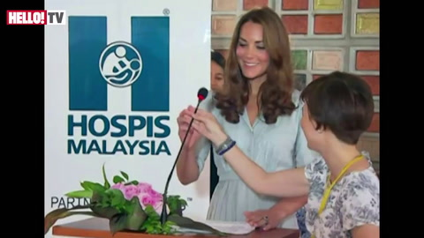 Kate Middleton\'s first speech abroad during visit to Hospis Malaysia
