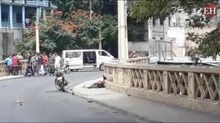 Tegucigalpa: Choque entre bus y motocicleta deja una persona muerta