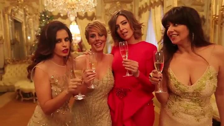 Las chicas del programa \'Hable con ellas\' nos desean Feliz Navidad