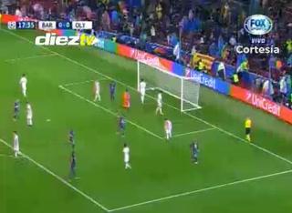 ¡GOOL DEL BARCELONA! Autogol 1-0 ante Olympiacos