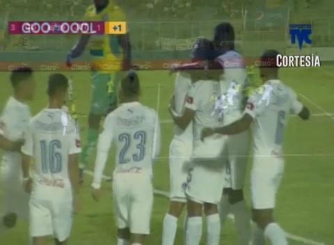 Tercer Gol del Olimpia a Juticalpa (Liga Nacional 2017)