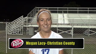 Lady Colonels' Lacy Talks Title-Game Goal
