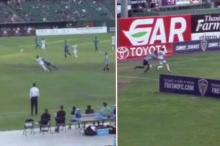 José Escalante destroza a dos marcas con regates humillantes en la USL