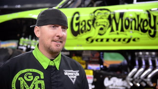 Behind the Scenes with the Gas Monkey Truck at Monster Jam