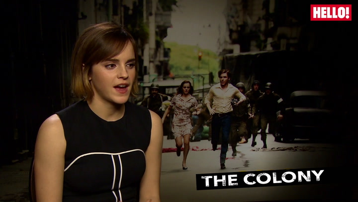 Emma Watson talks about her thrilling new film The Colony