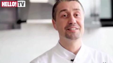 Fred Ponnavoy\'s Open Dark Chocolate Venison Ravioli with Herb Salad