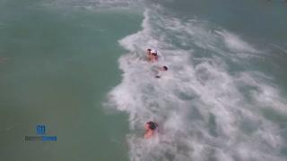 Un dron rescata a una mujer que se ahogaba en una playa de España