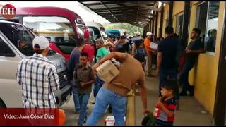 Con normalidad la Terminal de transporte en Comayagua