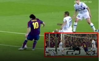 La inolvidable atajada de Julio César a Lionel Messi